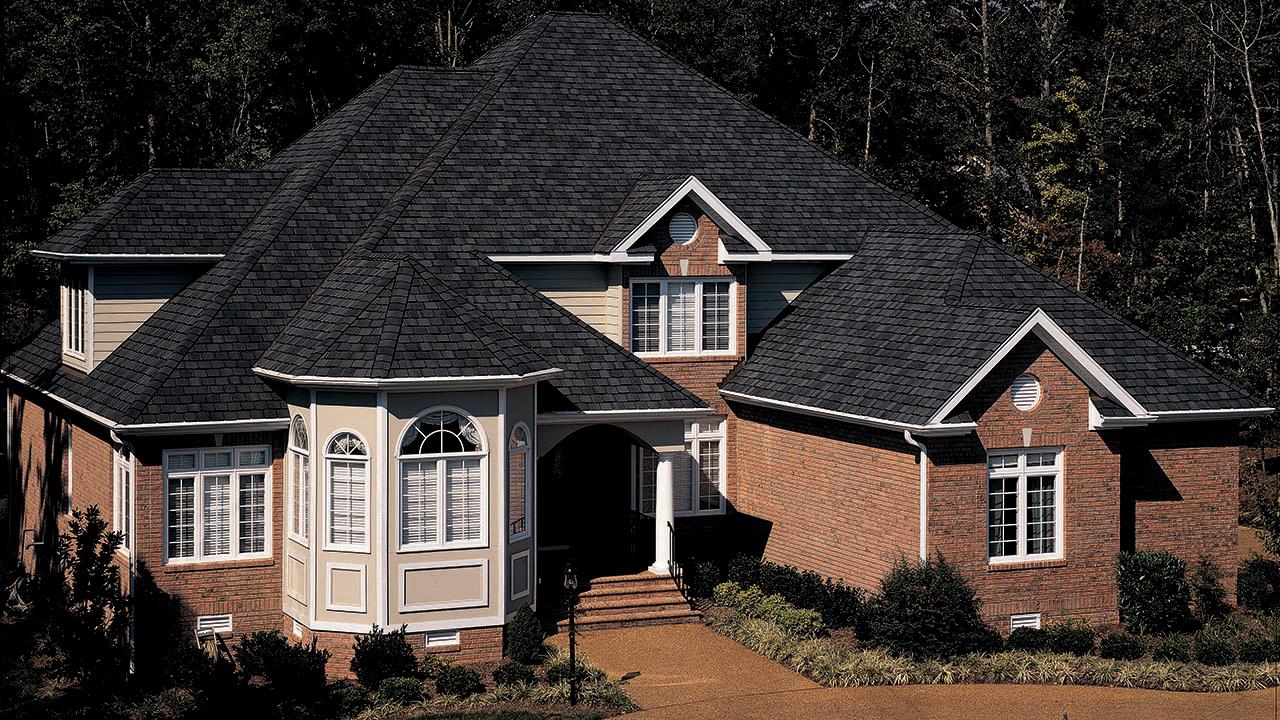 Certainteed GM Black Pearl Roof American Standard Roofing Houston