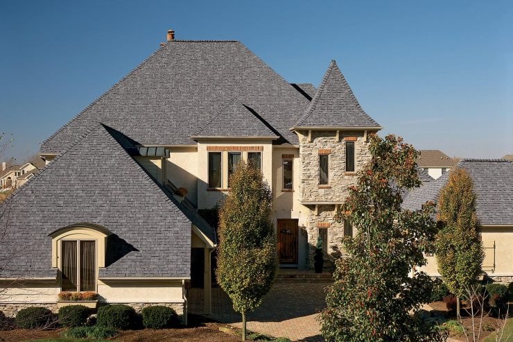 George Town Gray Shingles Roof American Standard Roofing Houston