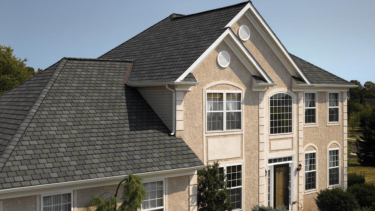 Highland Slate Shingle Smokey Quartz Roofing Houston