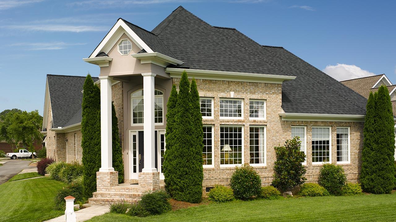 Landmark Moire Black Shingle American Standard Roofing Houston