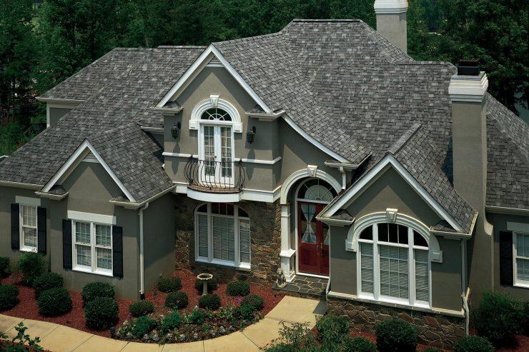 Colonial Slate Multi color Shingle American Standard Roofing Houston